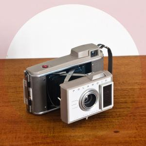 Cámara Polaroid J33, años...