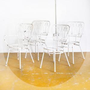 Conjunto sillas jardín,...