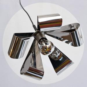 Lámpara de techo metal...