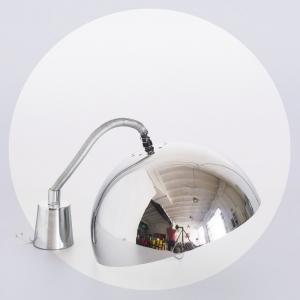 Lámpara de techo cromada,...