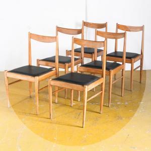 Conjunt 6 cadires estil...