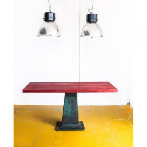 Mesa alta estilo industrial