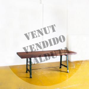 Mesa industrial en madera...