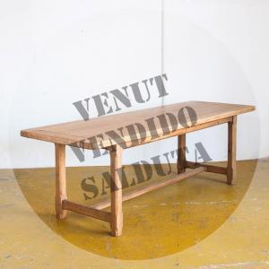 Mesa de madera de roble,...