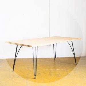 Mesa en madera de pino...