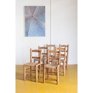 Conjunto 6 sillas de enea y...