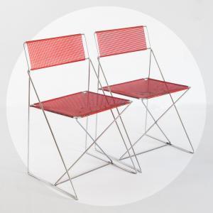 Pareja de sillas X-Line de...