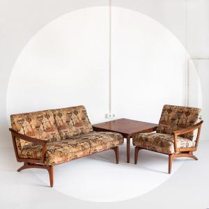 Conjunto sofá escandinavo...