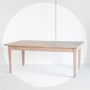Mesa de granja en madera de...