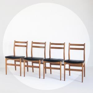 Conjunt de quatre cadires...
